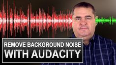 How to use audacity voice recording tutorial - background noise reduction