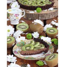 Tartaleta de chocolate y kiwi Zespri Green Base crujiente dehellip