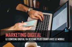 Avec la forte croissance du mobile, le contenu digital va devoir se réinventer et faire plus court en 2017. Il est temps de passer au contenu court.