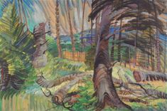 Google Doodle Celebrates Emily Carr's 142nd Birthday with Iconic Imagery of Canadian Landscape | DeSmog Canada