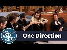 One Direction and Jimmy Have a Floor Interview