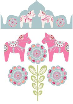 Being Swedish, I would love a Dala horse tattoo! A pink one surrounded by flowers would look awesome :)