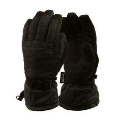 IL Caldo Womens Winter Gloves Plush Edge Warm Thick Knitted Mitten Drive Work Glove