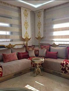 Charmant Rideaux Salon Marocain, Décoration Salon Marocain, Décor Marocain, Design  Marocain, Salon Marocain
