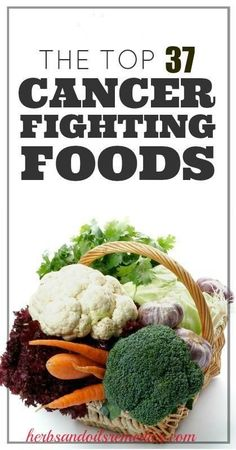 Best 37 Cancer Fighting Foods & Drinks | Starve off cancer disease with these good-for-you bites .#cancer prevention