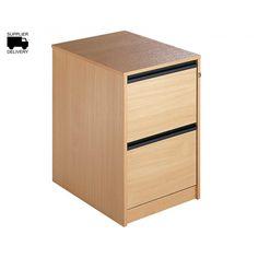 Maestro 2 Drawer Filing Cabinet - Filing Cabinets - Storage & Shelving - Furniture & Storage