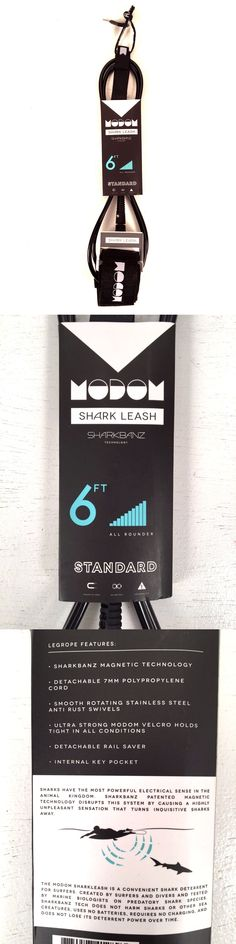 Other Surfing Accessories 71167: Modom Shark Leash Sharkbanz Repellent Standard 6 Ft Foot Surf Ankle Surfboard -> BUY IT NOW ONLY: $89.95 on eBay!