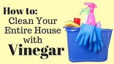 There are so many toxic cleaning products on the market today. Learn how to clean with vinegar instead, to make a safer environment for your family.