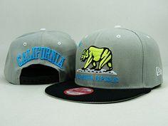 California Republic Snapback Hat 07