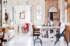 Virlova Interiorismo: [Reinstatement] Huella vintage en una vivienda de los 40's