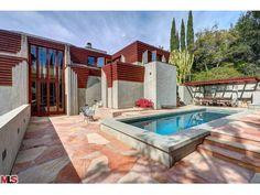 pool idea - Taggart House Lloyd Wright Los Angeles