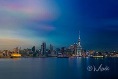 Auckland City day to night Photo by Mikey Mackinven — National Geographic Your Shot
