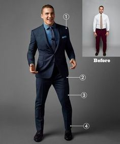 If you've got thunder thighs Best Suits For Big Men, Big Mens Suits, Suits For Short Men, Big And Tall Suits, Mens Casual Suits, Classy Suits, Mens Fashion Suits, Cool Suits, Men's Fashion