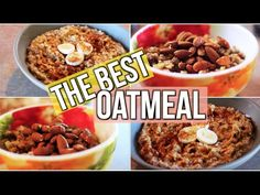 awesome My Favourite Oatmeal Recipes!   Easy & Delicious