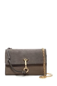 Image of Vince Camuto Blena Leather & Suede Clutch