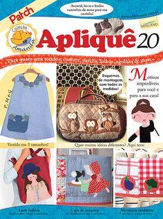Artesanato - Apliquê - Patchwork : COL AMANDA APLIQUE 020 - Editora Minuano
