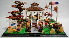 LEGO IDEAS - Stars Hollow Gazebo Gilmore Girls Haus, Gilmore Gilrs, Gazebo Decorations, Holiday Decorations, Thats 70 Show, Lorelai Gilmore, Stars Hollow, Girl Themes, Lego House