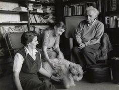 Albert Einstein. Princeton, New Jersey. 1953.