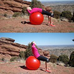 Najlepsze ćwiczenia z piłką stabilizującą!