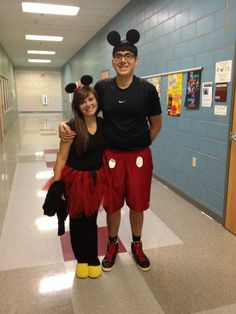 Minnie and Mickey Costume❤️ #couplecostume #minnieandmickey