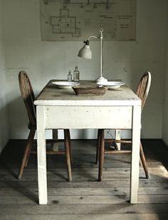 simple, white & wood