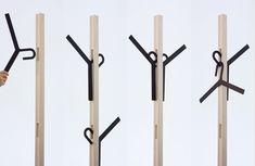Coat hanger by Takashi Sato