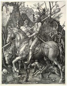 Le Chevalier, la Mort et le Diable (Bartsch 98) | Petit Palais