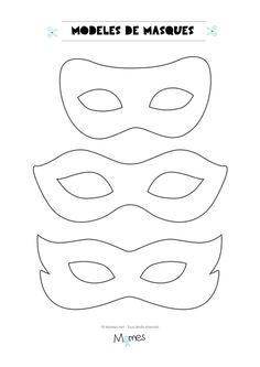 6 models of masks for the carnival - Jessica Marro - - 6 modèles de masques pour le carnaval Here are 6 models of masks to print for carnival. Carnival Outfits, Carnival Rides, Carnival Makeup, Crafts For Girls, Diy For Kids, Mardi Gras, Cumpleaños Lady Bug, Theme Carnaval, Carnival Crafts