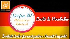 Lecția 20 - Mâncare și Băutură - Lecții de Vocabular in Limba Germană - YouTube Chart, Youtube, Youtubers, Youtube Movies