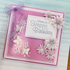 Chloes Creative Cards, Stamps By Chloe, Bday Cards, Butterfly Cards, Quilling, Making Ideas, Projects To Try, Card Making, Happy Birthday