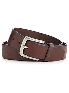 Wide textured belt
