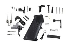 Anderson Manufacturing - Lower Parts Kit - .223 / 5.56 - Black Hammer and Trigger