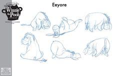eeyore sketch original - Szukaj w Google