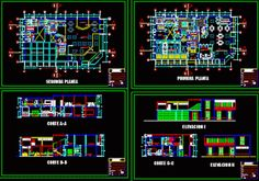 Engineering et Architecture: Plan dwg d'un restaurant Bloc Autocad, Autocad Civil, Restaurant Plan, Restaurant Design, Civil Engineering Projects, Wood Frame Construction, Villa Plan, Arquitetura, Autos