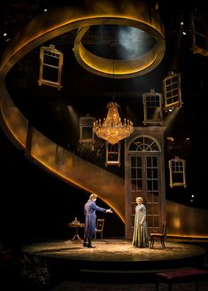 Kevin Depinet is a Chicago Based Scenic design er whose work has been seen in regional theaters across the country and abroad. Stage Set Design, Set Design Theatre, Arte Do Piano, Ha Vagas, Bühnen Design, Dark Fantasy Art, Theatre Stage, Royal Ballet, Scenic Design
