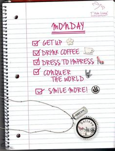 Hello Monday! Let's have a great week!  #taideliving  www.taideliving.com