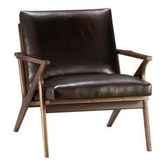 Crate & Barrel Leather Chair 2nd choice