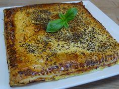 Cuisine en folie: Feuilleté de courgettes et origan à la Scamorza fu...