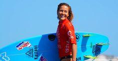 ¡Orgullo nacional! Leilani bronce en Mundial Junior de Surf