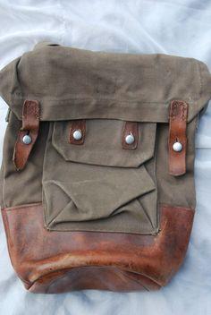 Vintage Backpack Swiss Army Military Rucksack - Google 検索
