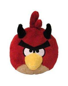 Red Bird Devil  Angry Birds Seasons Halloween Mini-Plush Series (No Sound) 106b56c6be15