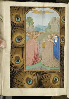 Medieval Manuscript Images, Pierpont Morgan Library, Breviary of Eleanor of Portugal. MS M.52 fol. 170v
