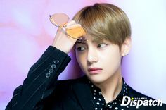 Taehyung being handsome like always