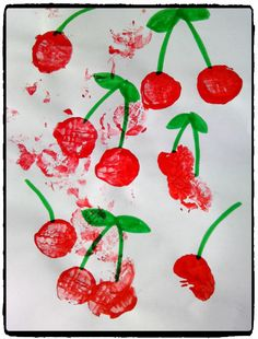 Our purple cherries – Summer Activities, Diy Hacks, String Art, Childcare, Cherry, Projects To Try, Alice, About Me Blog, Animation