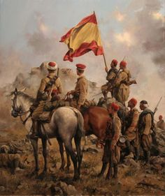 La Pintura y la Guerra. Sursumkorda in memoriam Spain History, Art History, Military Art, Military History, Spanish War, Conquistador, Historical Art, Illustrations, Michigan