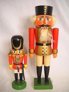 Vintage wooden nutcrackers