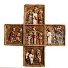 Cruz Pascual de piedra Bethléem | venta online en HOLYART