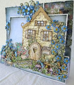 Hi there, here's my 'Home Sweet Home' Wildwood Cottage card...enjoy..... To get you all warmed up and fuzzy inside about this new co...