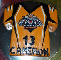 Nrl Wests Tigers Edible Cake Topper You Just Buy The