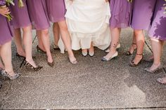 Maryland Zoo Wedding — East Made Event Company and Meghan Rose Photography. Animal leopard print shoes heels bridesmaids wedding